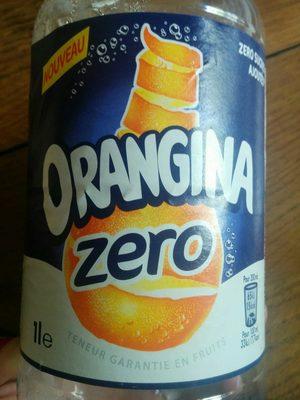 Orangina zero - Produit