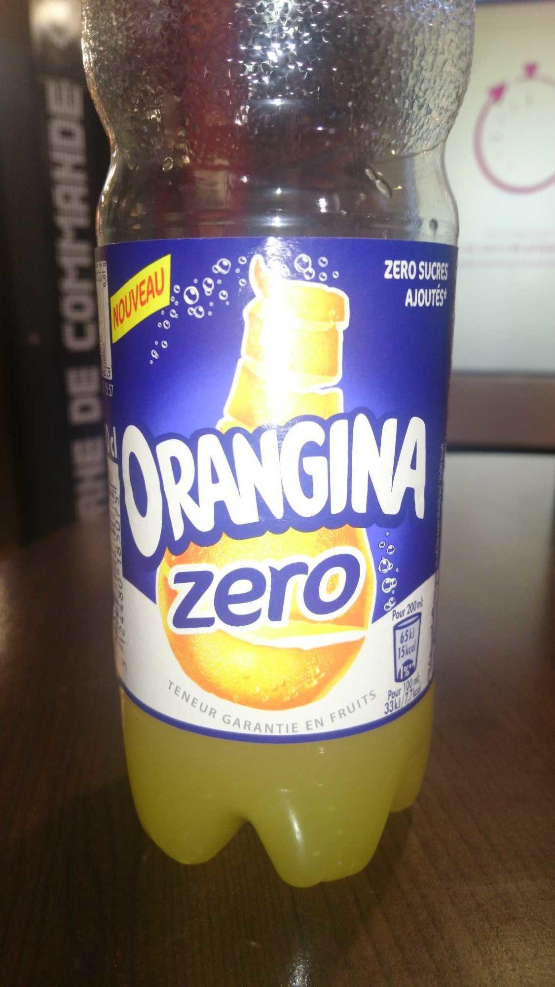 Orangina Zero - Product - fr