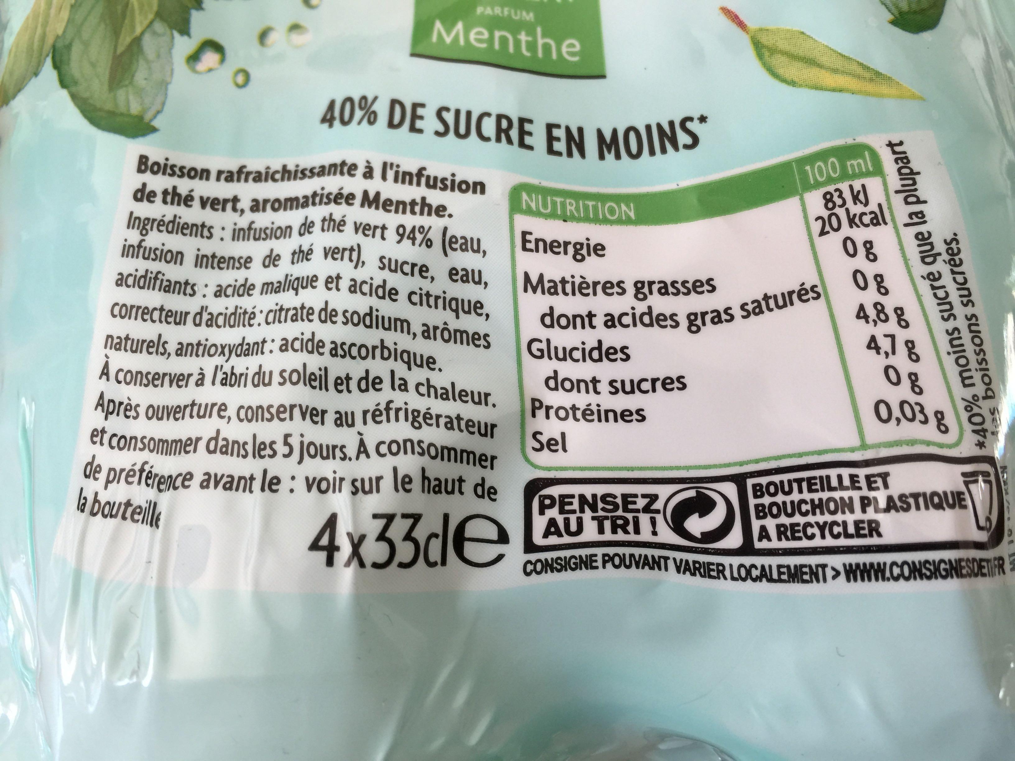 Thé Infusé Glacé - Produit - fr