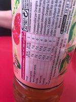 Thé infusé glacé a la framboise - Nutrition facts