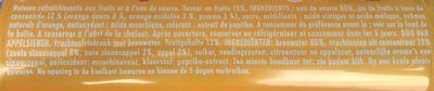 Oasis Orange - Ingrediënten - fr
