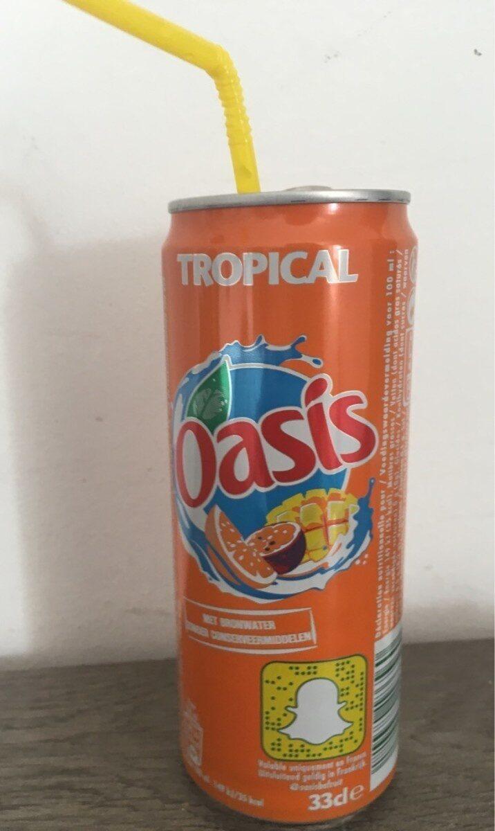 Oasis tropical - Informazioni nutrizionali - fr