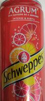 Schweppes Agrum - Product - fr