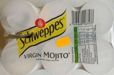 Schweppes Mojito Slim Cans 4X33CL 6-pack - Produit - fr
