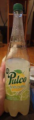 Pulco fines bulles Citron Citron vert - Produit