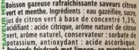 Schweppes virgin mojito - Ingrédients - fr