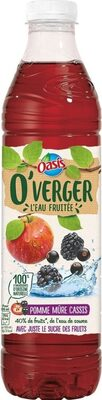 O'Verger Pomme-Mûre-Cassis - Product - fr