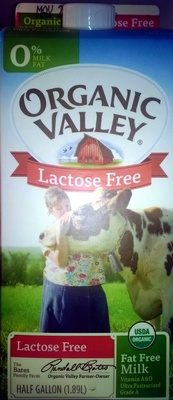 Lactose free Fat free Milk - Product
