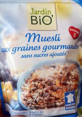 Muesli aux graines gourmandes  - Product