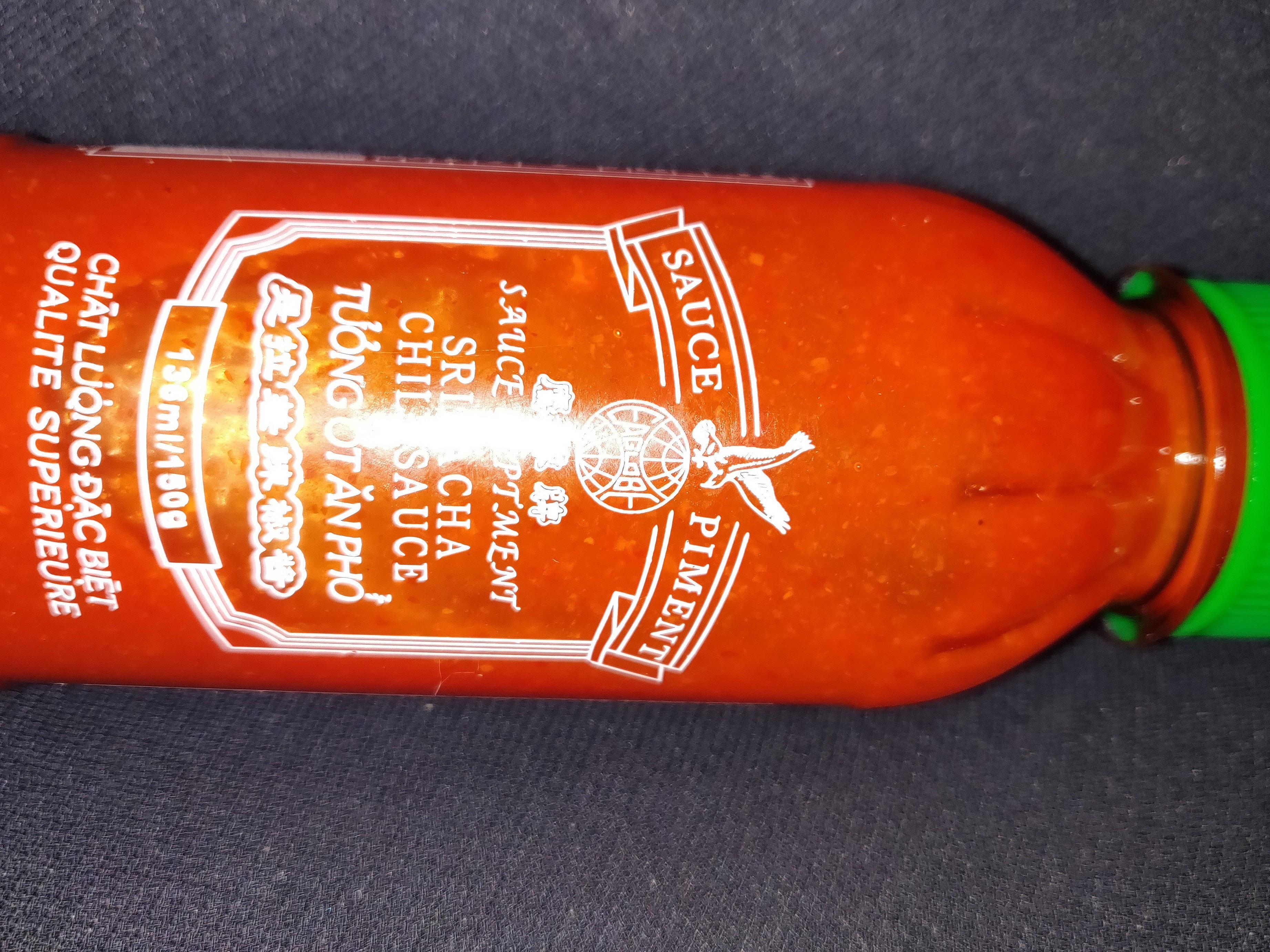 Sriracha chili sauce piment - Prodotto - fr