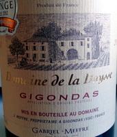 Gigondas - Domaine de la Daysse 2012 - Prodotto - fr