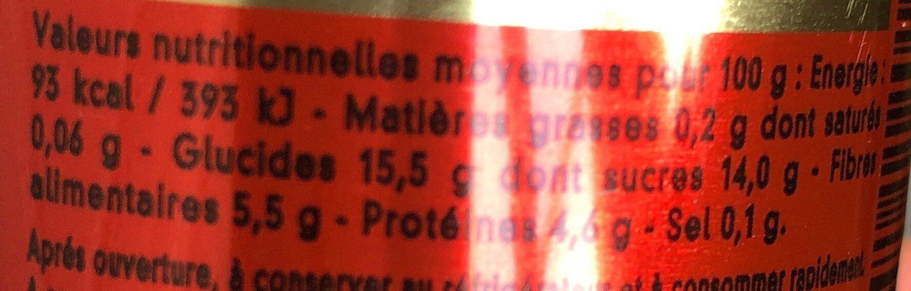 Double concentré de tomate 28% mini - Informations nutritionnelles - fr