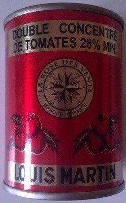 Double concentré de tomates 28% min. - Produit - fr