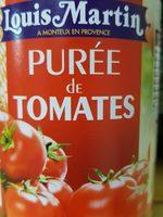 Purée  de tomates Louis Martin - Produit - fr