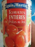 TOMAT ENT PELEE JUS 1/2 - Produit - fr
