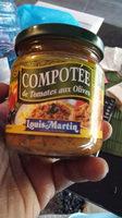 Compotée de tomates aux olives Louis Martin - Produit - en