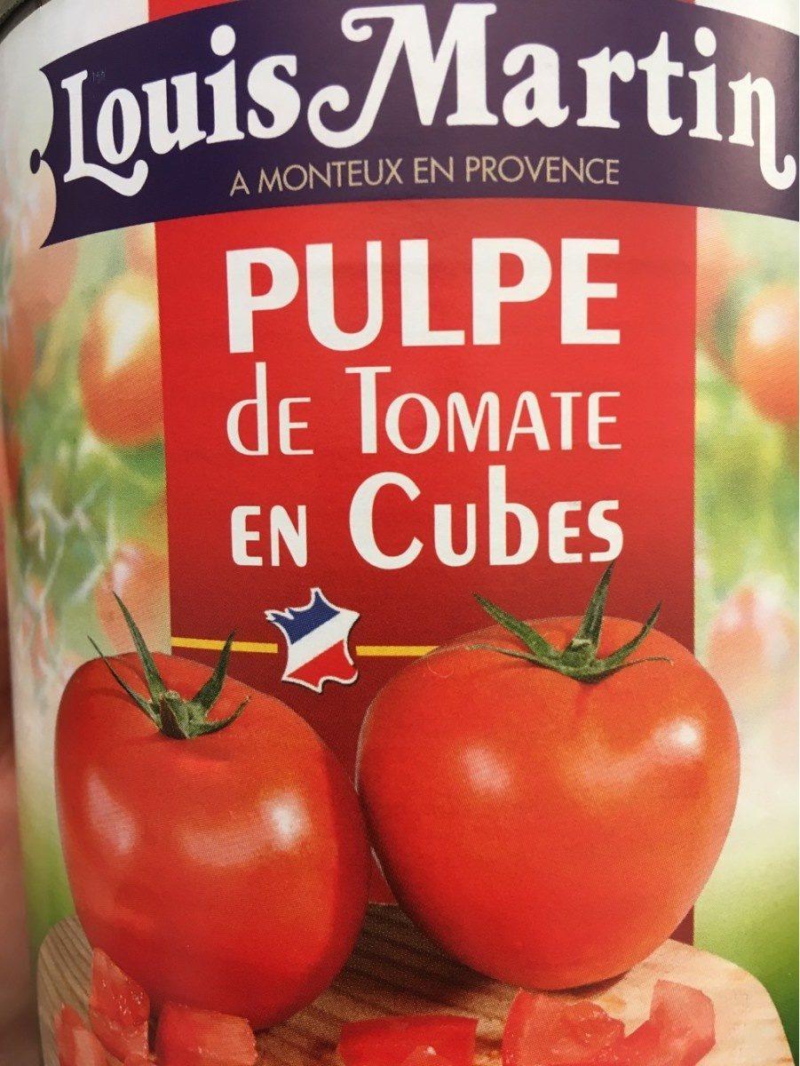 Pulpe te tomate en cube - Produit - fr