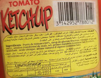 Tomato Ketchup Louis Martin 1 KG - 2