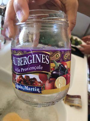 Aubergines à la provencales - Produit