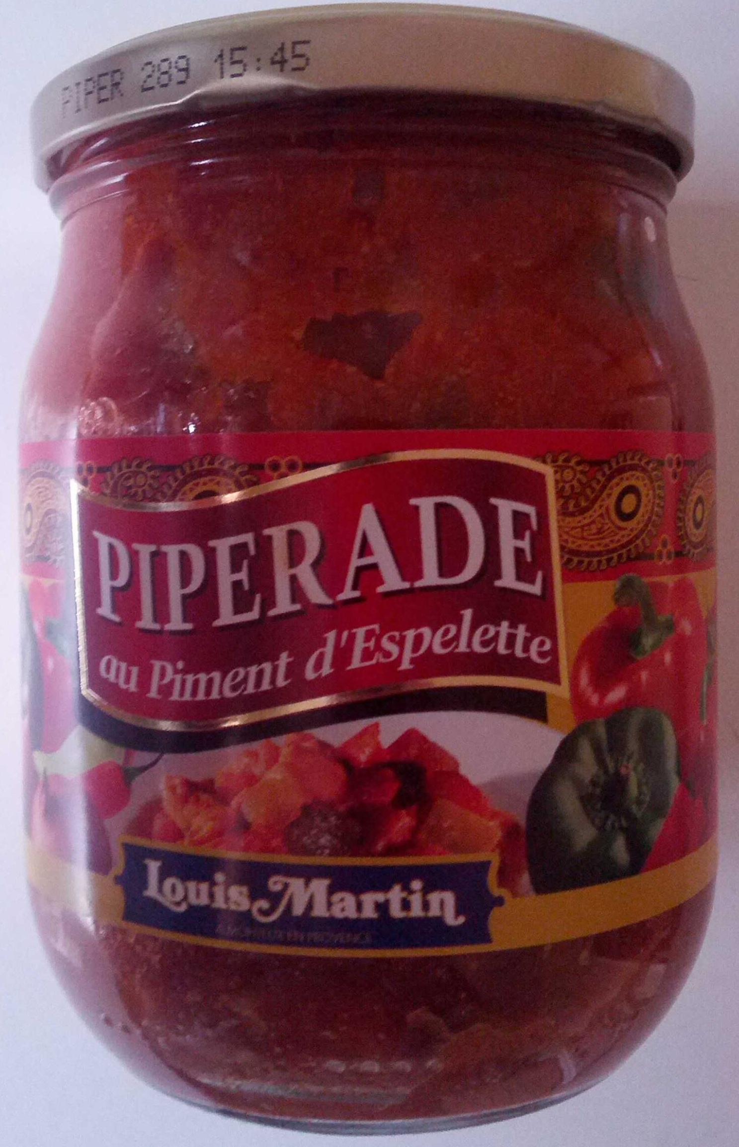 Piperade au Piment d'Espelette - Produit - fr
