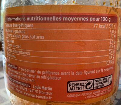 Piperade au Piment d'Espelette - Informations nutritionnelles - fr
