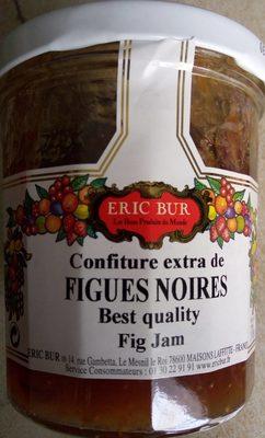 Confiture Extra Figue noires - Produit