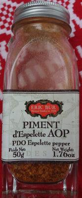Piment d'Espelette AOC ERIC BUR - Product - fr