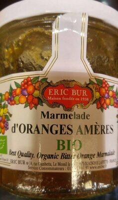 Marmelade d'oranges amères - Produit - fr