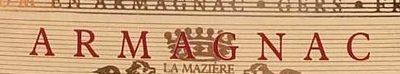Armagnac de la Mazière - Inhaltsstoffe - fr