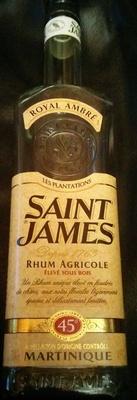 rhum agricole de martinique - Product