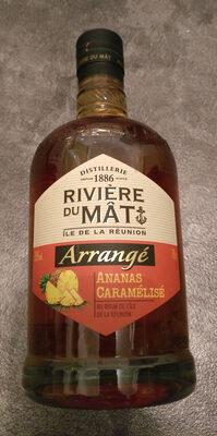 Rhume arrangé ananas caramélisé - Produit - fr