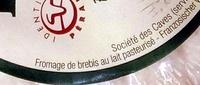 Pérail (26,3% MG) - Ingrédients - fr