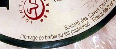 Pérail (26,3% MG) - Ingrédients