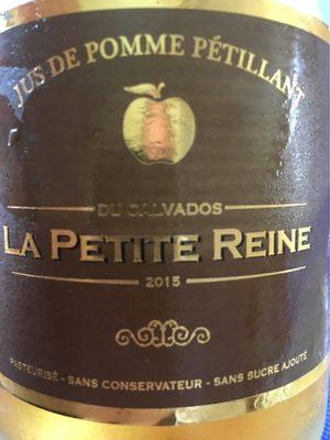Jus De Pommes Pétillant Du Calvados ';la Petite Reine'; 0.75 Liter - Produit - fr