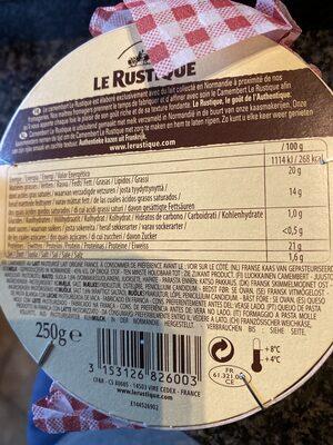 Le Rustique - Camembert - Product - en