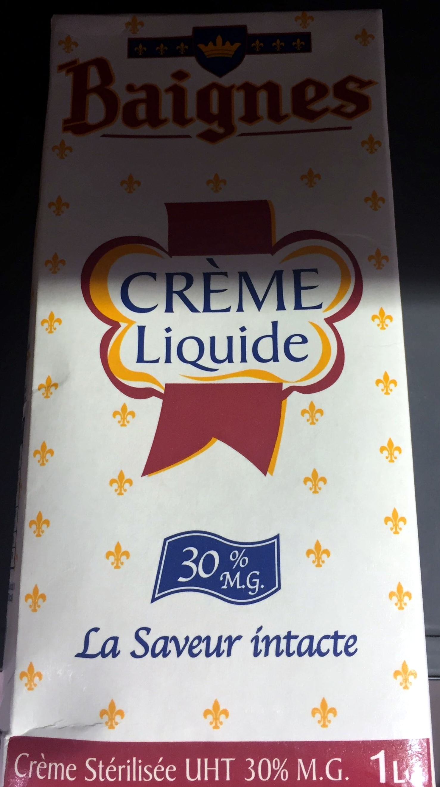 Crème Liquide - Produit - fr