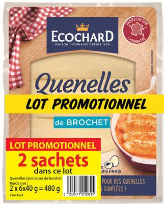 Quenelles de Brochet Lot de 2 - Produit