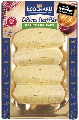 Délices Soufflés Petits Légumes - Produit