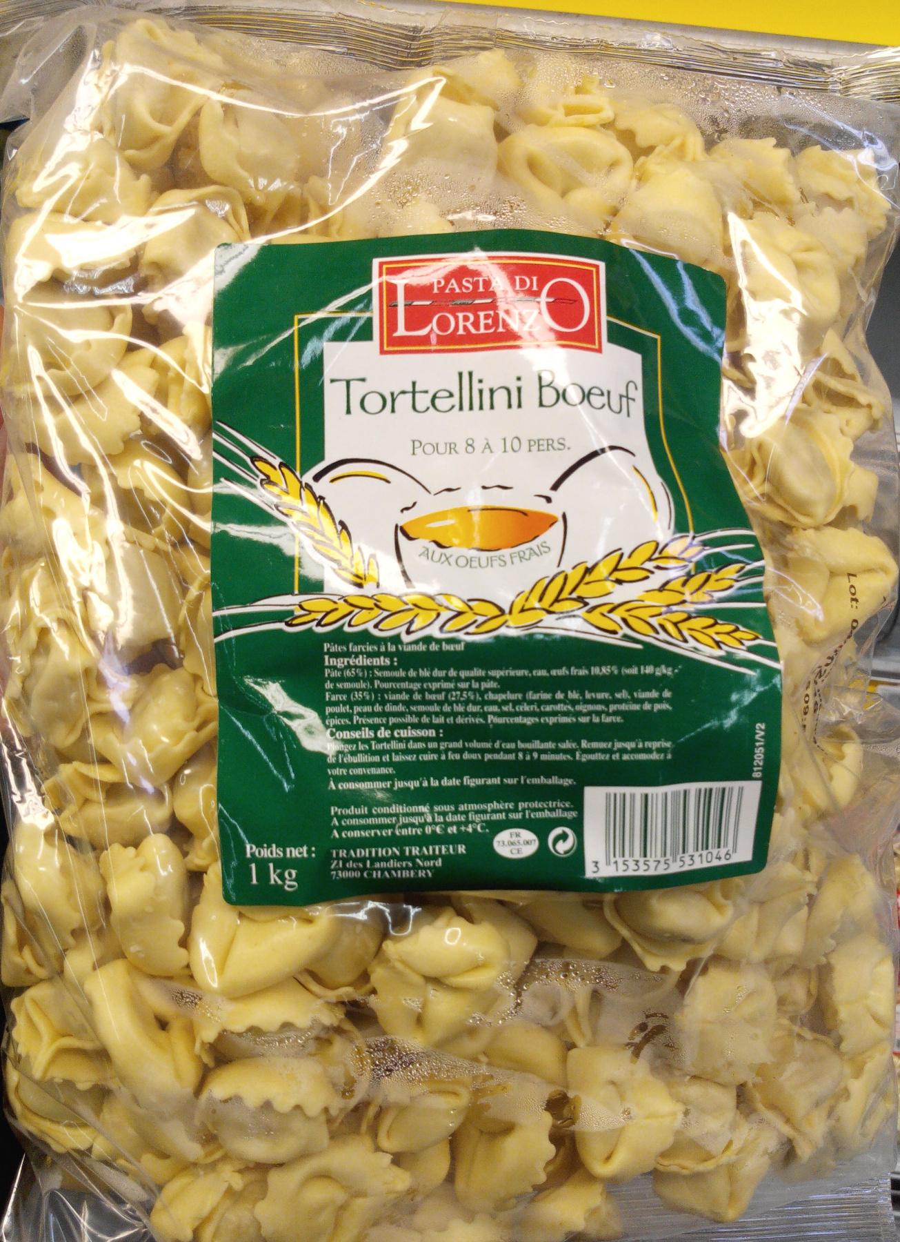 tortellini boeuf la pasta di lorenzo 1 kg