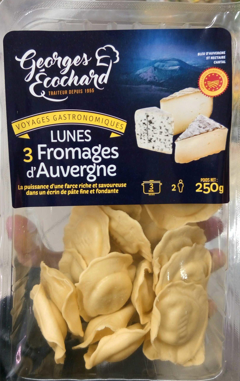 Lunes 3 Fromages d'Auvergne - Product