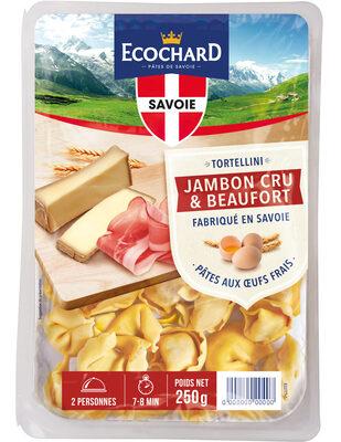 Tortellini Jambon cru et Beaufort - Product
