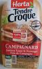 Tendre croque Campagnard - Produit