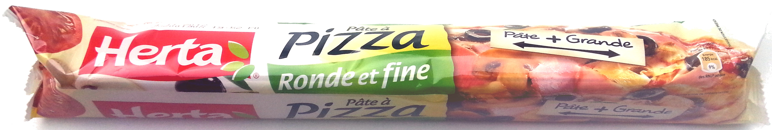 Tradizionale masa para pizza redonda fina y esponjosa - Product