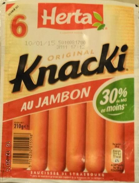 Knacki au jambon - Product - fr