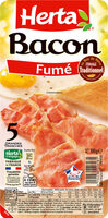 HERTA Bacon fumé grandes tranches - Prodotto - fr