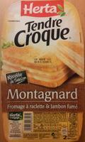 Tendre Croque, Montagnard (Fromage à raclette & Jambon fumé) - Produit - fr
