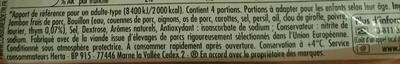 Tendre Noix, Rôti au thym - Ingredients