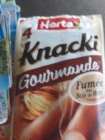 knacki gourmande - Product - fr