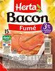 HERTA Bacon fumé - Produit