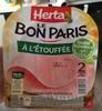Le Bon Paris, À l'Étouffée (2 Tranches) - Product